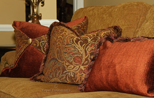 Cushions Amp Pillows Royal Treatments