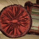Red Tambourine Pillow