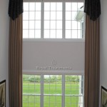 Two Story Draperies with Valance